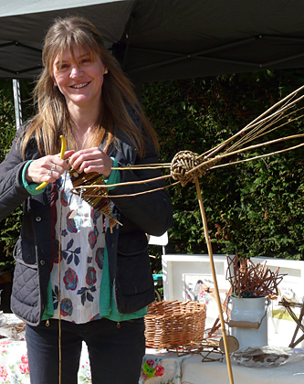 tracy dragonflies at plant fair
